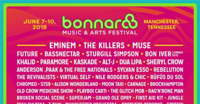 Bonnaroo reveals 2018 line-up