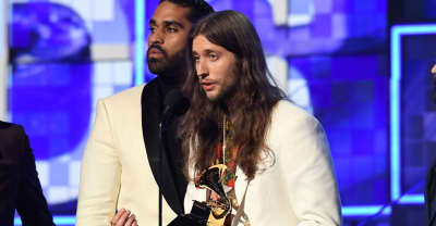 Childish Gambino producer Ludwig Göransson gave the only 21 Savage shoutout at the Grammys
