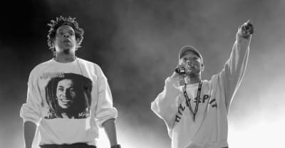 "Watch Pharrell and Jay-Z perform ""Frontin'"" at Something in the Water festival"