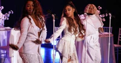 """Watch Ariana Grande's First Wives Club-themed """"thank u, next"""" performance"""