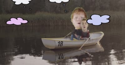 "Justin Bieber and Ed Sheeran have fun with green screen in their ""I Don't Care"" video"