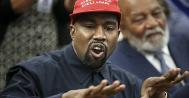 Kanye West shares bizarre 2020 campaign video 1