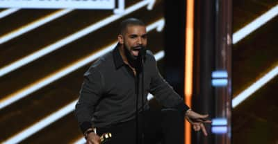 Watch Drake Give A Shout-Out To His Dad While Accepting His Top Billboard 200 Album Award