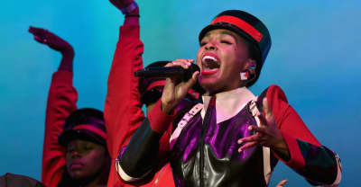Watch Janelle Monáe perform with special guest Lupita Nyong'o in London