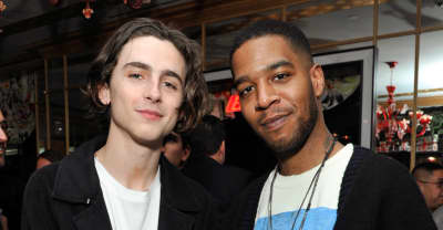 Timothée Chalamet reunited with Kid Cudi in Los Angeles