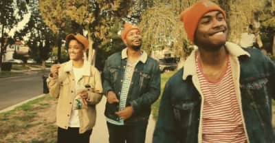 "Watch Matt Martians Bring Syd And Steve Lacy On A Stroll For His ""Dent Jusay"" Video"