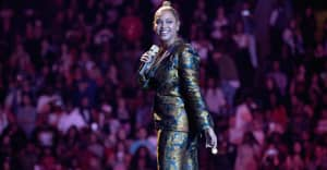 """Watch Beyoncé perform """"Halo"""" and """"XO"""" at Kobe and Gianna Bryant's memorial service"""