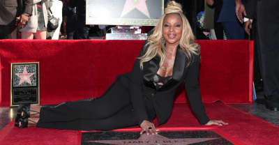 Mary J. Blige received her star on the Hollywood Walk of Fame