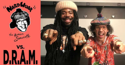 Watch Nardwuar Interview D.R.A.M.