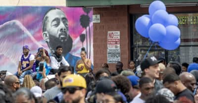 One person killed after shooting near Nipsey Hussle memorial procession