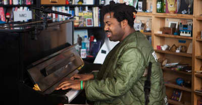 Watch Sampha's NPR Tiny Desk Concert