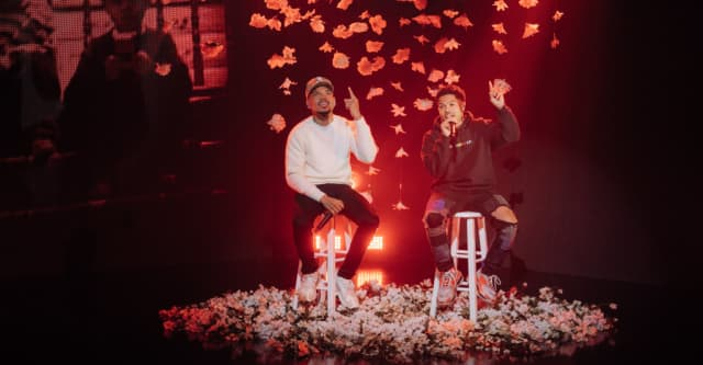 """Watch Chance The Rapper perform """"Roo"""" with brother Taylor Bennett 1"""