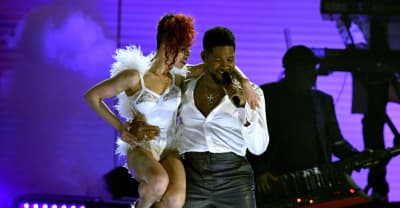 Watch Usher, FKA Twigs, and Shelia E play a Prince medley at the Grammys