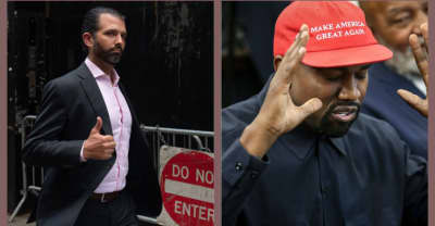 Sorry, but Donald Trump Jr. loves Kanye West's Jesus Is King