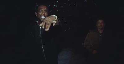 """Watch Gucci Mane, Travis Scott, And Harmony Korine Start A Fire In The """"Last Time"""" Video"""