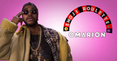 Watch Omarion Breeze Through A Hilarious Game Of Emoji Roulette
