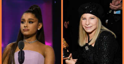 Watch Ariana Grande join Barbra Streisand onstage for a duet
