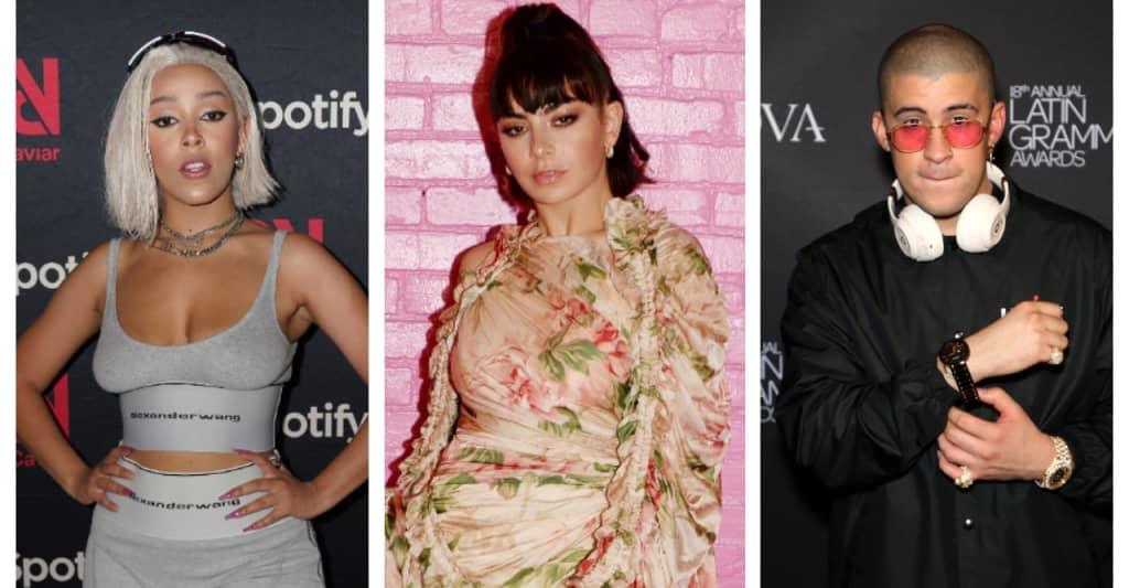 The Pop List: Bad Bunny, Charli XCX, Doja Cat, and more
