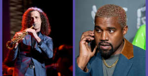 Kenny G says he's been in the studio with Kanye West