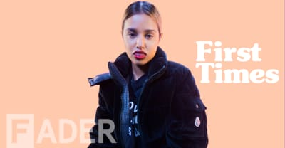 Tommy Genesis reminisces about her band God's Girls, outbursts at school assemblies, and more in First Times