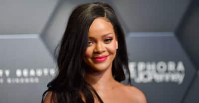 Rihanna made a surprise appearance at an anniversary party for Fenty Beauty