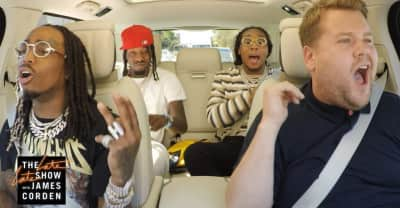 Migos will appear on James Corden's Carpool Karaoke