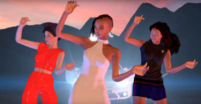 "Kelela goes 3D in her bizarre and beautiful ""Frontline"" video"