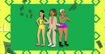 "Aluna, Princess Nokia, and Jada Kingdom link up on ""Get Paid"""