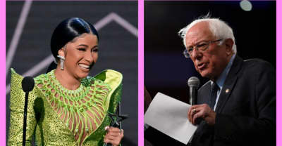Watch Cardi B interview Bernie Sanders