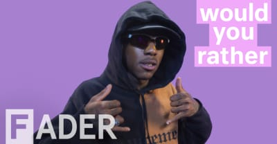 Octavian debates Bon Iver, the women of the royal family, and more in Would You Rather video