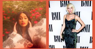 Taylor Swift sent Cardi B congratulations flowers