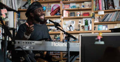 Watch Blood Orange's Tiny Desk Concert
