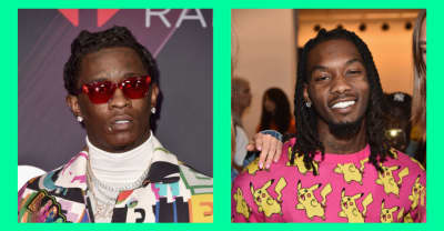 "Young Thug added the Offset verse to ""On The Run"""