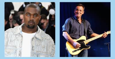 """Bruce Springsteen calls Kanye West's The Life Of Pablo """"an amazing creation"""""""