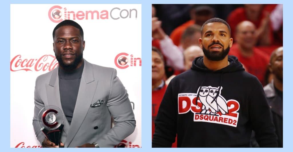 """Kevin Hart says Drake """"doesn't pay"""" his debts"""