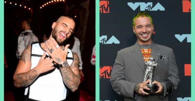 "Maluma and J Balvin tease new collab ""Que Pena"""
