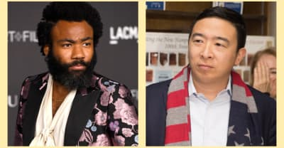"Donald Glover is officially Andrew Yang's ""creative consultant"""