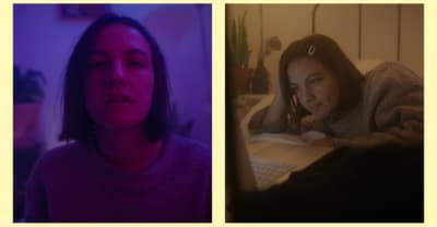 """Emma Russack's """"Be Real"""" is self-empowerment punk with a surreal video"""