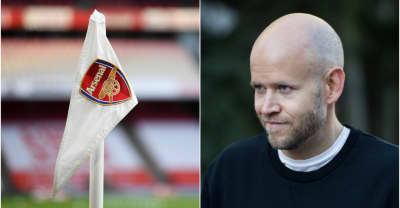 Spotify CEO Daniel Ek says he wants to buy Arsenal FC