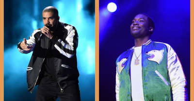 "Watch Drake bring out Meek Mill to perform ""Dreams and Nightmares"" at his Boston tour stop"