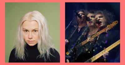 "Listen to Phoebe Bridgers cover The Cure's ""Friday I'm In Love"""