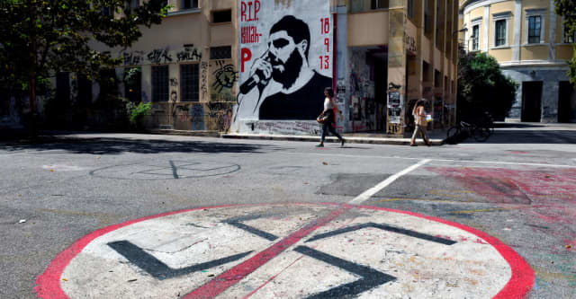 Leader of Greek neo-Nazi party convicted of running a criminal group after murder of anti-fascist rapper 1