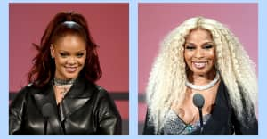 Watch Rihanna give a speech honoring Mary J. Blige at the BET Awards