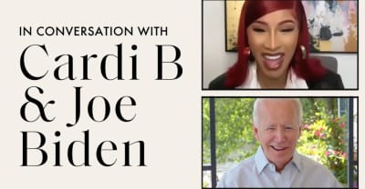 Watch Cardi B interview Joe Biden about the 2020 election