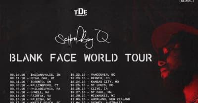 ScHoolboy Q Announces Blank Face World Tour With Joey Bada$$