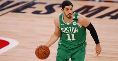 Boston Celtics games pulled from Chinese streamer after Enes Kanter voices support for Tibet