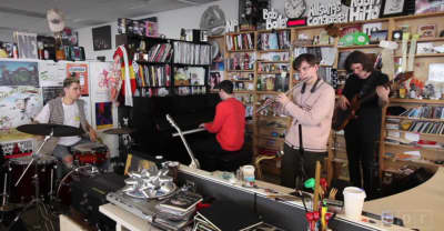Watch BADBADNOTGOOD's NPR Tiny Desk Concert