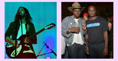 Tame Impala and Theophilus London debuted new music on Virgil Abloh's Beats 1 show