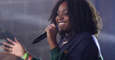 "Watch Noname Slay ""Diddy Bop"" Live"
