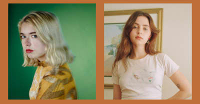 "Watch Snail Mail and Clairo perform ""Speaking Terms"" together"